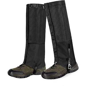 Unigear Gaiters for Hunting | Resist Water/Dust | Breathable