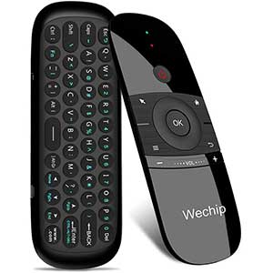 Wechip W1 2.4G Htpc Remote | Strong Compatibility | 4 Axis Motion
