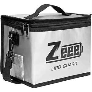 Zeee | Lipo Bag | Fireproof | Explosion Proof Bag | Large Capacity