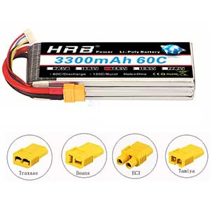 HRB 4S LiPo Battery | 3300mAh | 60C | With XT60 Plug | 1 Pack