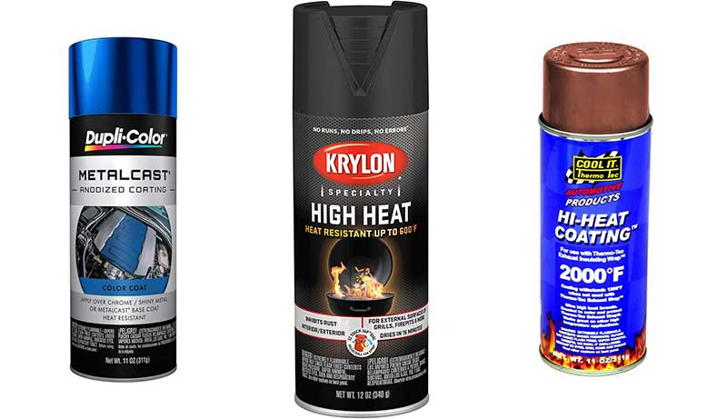 High Heat Spray Paint